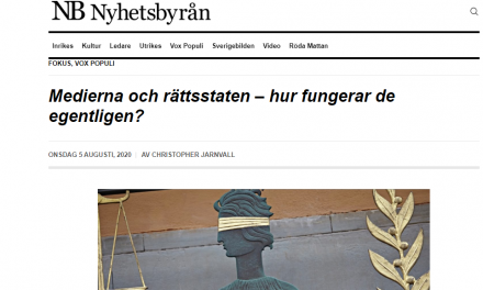 """Vox Populi: """"Medierna och rättsstaten – hur fungerar de egentligen?"""""""